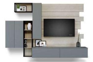 Современная гостиная ЛДСП CITY 603.27 - Мебельная фабрика «Феникс»