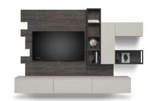 Современная гостиная ЛДСП CITY 605.27 - Мебельная фабрика «Феникс»