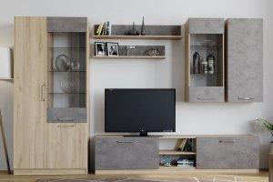 Современная гостиная Лофт - Мебельная фабрика «Боровичи-Мебель»