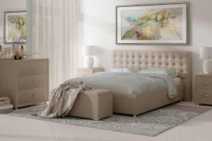 Современная интерьерная кровать SIENA - Мебельная фабрика «Sonum»