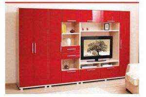 Современная красная гостиная Бриз - Мебельная фабрика «Альфа-М»
