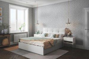 Современная кровать Caprice - Мебельная фабрика «Sonum»