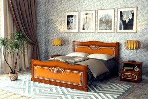 Современная кровать Эльвира - Мебельная фабрика «DM- darinamebel»