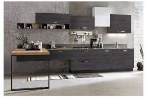 Современная кухня Адриано прямой - Мебельная фабрика «Волжская мебель»