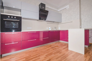 Современная кухня Фасад МДФ в пленке ПВХ - Мебельная фабрика «Эдельвейс»