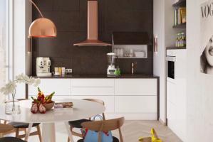 Современная кухня Industrial Soft - Мебельная фабрика «Лорена»