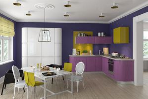 Современная кухня Интегра угловая - Мебельная фабрика «Кухни MIXX»
