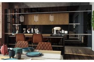 Современная кухня Кристали - Мебельная фабрика «РИМИ»