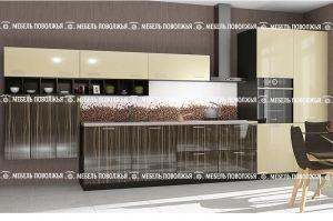 Современная кухня АМЕРИКАНО МДФ - Мебельная фабрика «Мебель Поволжья»