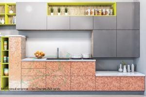 Современная кухня Пластик 2 - Мебельная фабрика «Мебель-Неман»