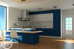 Современная кухня Quadro-TSS - Мебельная фабрика «Мебелькомплект»
