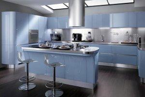 Современная кухня с островом - Мебельная фабрика «Актуаль-М»