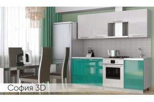 Современная кухня София 3D - Мебельная фабрика «Мебель Даром»