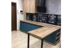 Современная кухня в стиле Лофт - Мебельная фабрика «Омега»