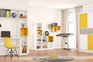 современная мебель Нэмо для детской комнаты - Мебельная фабрика «Ренессанс», г. Кузнецк