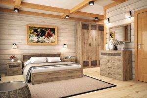 современная модульная коллекция мебели в спальню Kantri - Мебельная фабрика «Ваш День»