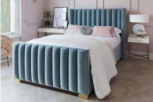 Современная панельная кровать - Мебельная фабрика «Danis»