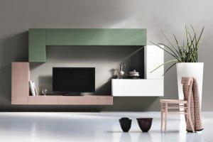 Современная подвесная тумба для ТВ аппаратуры - Мебельная фабрика «NIKA premium»