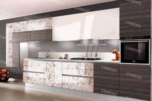 Современная прямая кухня - Мебельная фабрика «Самеко»