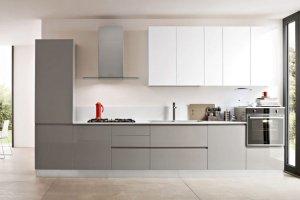 Современная прямая кухня - Мебельная фабрика «Рось»