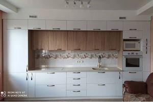 Современная прямая кухня - Мебельная фабрика «Анкор»