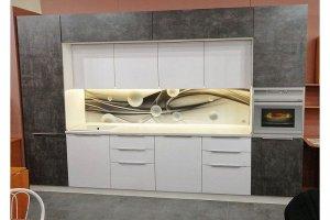 Современная прямая кухня - Мебельная фабрика «Гармония»