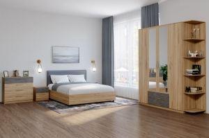 Современная спальня Лофт - Мебельная фабрика «Боровичи-Мебель»