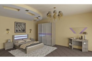 Современная спальня Соната 1 - Мебельная фабрика «МИГ»