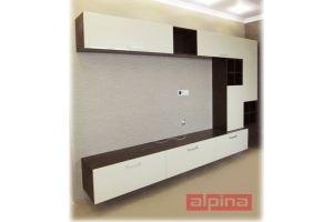 Современная стенка - Мебельная фабрика «Альпина»