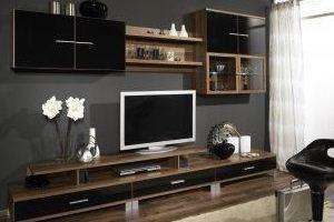 Современная стенка в гостиную - Мебельная фабрика «Мелиада»