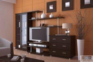 Современная стенка в гостиную - Мебельная фабрика «Актуаль-М»