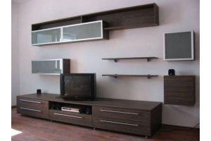 Современная темная гостиная - Мебельная фабрика «Народная мебель»