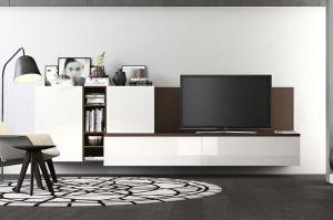 Современная ТВ-зона - Мебельная фабрика «MipoLine»