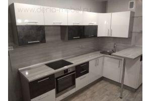 Современная угловая кухня - Мебельная фабрика «Дэрия»