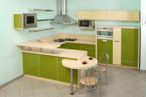 Современная угловая кухня - Мебельная фабрика «Mirati»