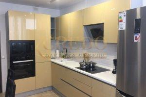 Современная угловая кухня - Мебельная фабрика «Кредо»