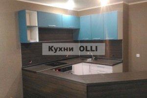 Современная угловая кухня - Мебельная фабрика «Кухни OLLI»