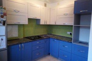 Современная угловая кухня - Мебельная фабрика «IDEA»