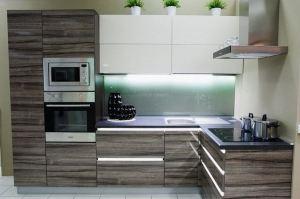 Современная угловая кухня акрил глянец - Мебельная фабрика «Гранд Мебель»