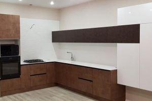 Современная угловая кухня - Мебельная фабрика «VELDE»