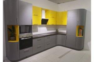 Современная угловая кухня - Мебельная фабрика «МиАн»