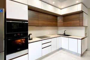 Современная угловая кухня - Мебельная фабрика «Крафт»