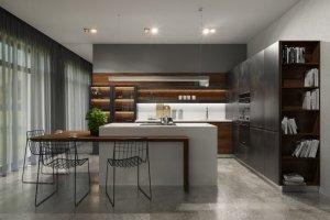 Современная угловая кухня Европа - Мебельная фабрика «Камеа»