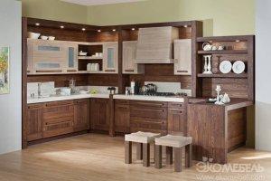 Современная угловая кухня Каприз - Мебельная фабрика «Экомебель»