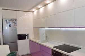 Современная угловая кухня Пластик - Мебельная фабрика «SOVA»