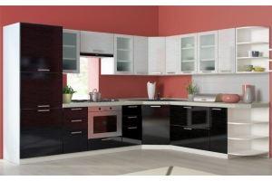 Современная угловая кухня Вива-3 - Мебельная фабрика «Фаворит»
