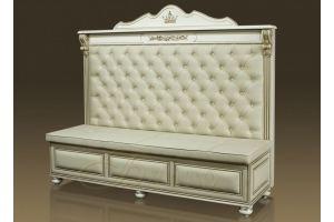 Современный диван на кухню Б7 5 2 Белый - Мебельная фабрика «Благо»
