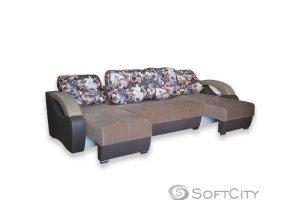 Современный и практичный диван Барселона 2T  - Мебельная фабрика «Софт Сити»