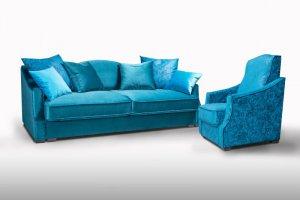 Современный классический диван с креслом Версаль - Мебельная фабрика «Треви»