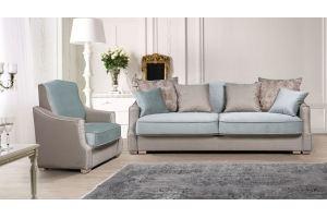 Современный диван с креслом Версаль - Мебельная фабрика «ТРЕВИ»